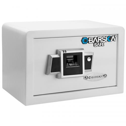 Barska Compact Biometric Safe BX-100 [White] [AX12400]