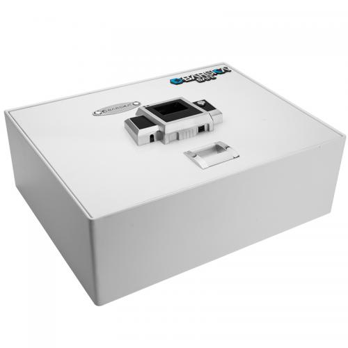 Barska Top Opening Biometric Safe BX-200 [White] [AX12402]
