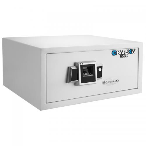 Barska Biometric Fingerprint Safe BX-300 [White] [AX12404]