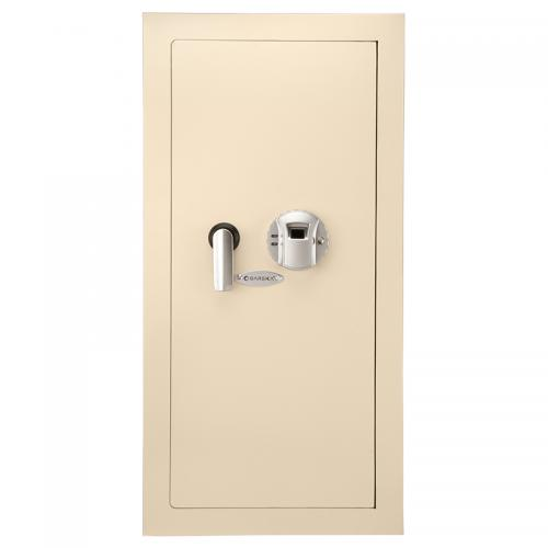 Barska Large Biometric Wall safe [Cream] [AX12408]