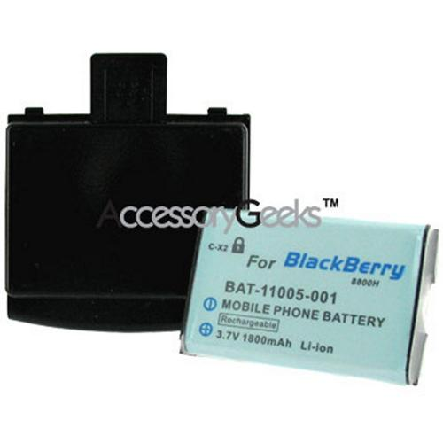 BlackBerry 8800 Extended Battery - Black