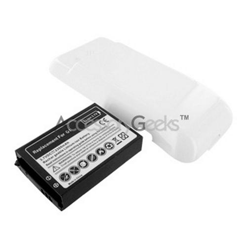 HTC G1 Extended Battery w/ Door- White
