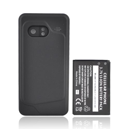 HTC Droid Incredible Extended Battery w/ Door, 2200mAh