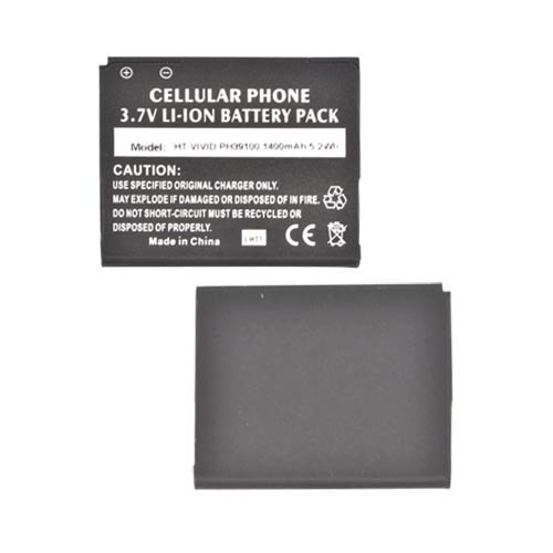 HTC Vivid Standard Replacement Battery (1400 mAh) - Black