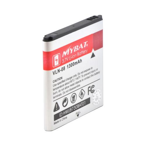 T-Mobile Huawei myTouch 2/ myTouch Q 2 Standard Replacement Battery (1300 mAh) - Black