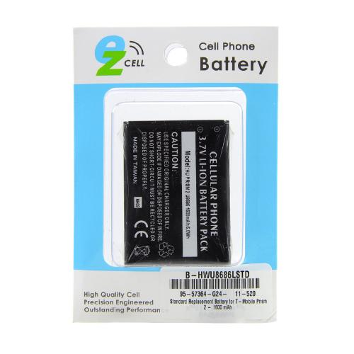 Standard Replacement Battery for T-Mobile Prism 2 - 1600 mAh