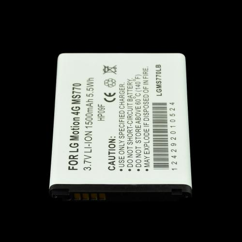 Standard Replacement Battery for LG Motion 4G - Li-1200 mAh