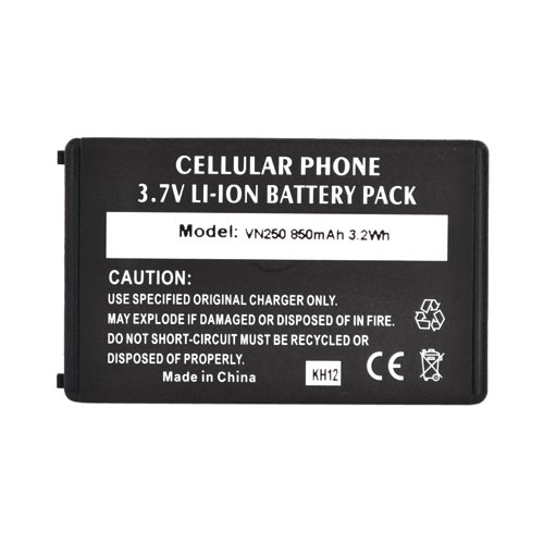 LG Cosmos VN250 / LG Octane Standard Battery Replacement, 850mAh