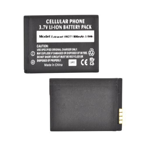 LG Extravert VN271 Standard Replacement Battery (800 mAh) - Black