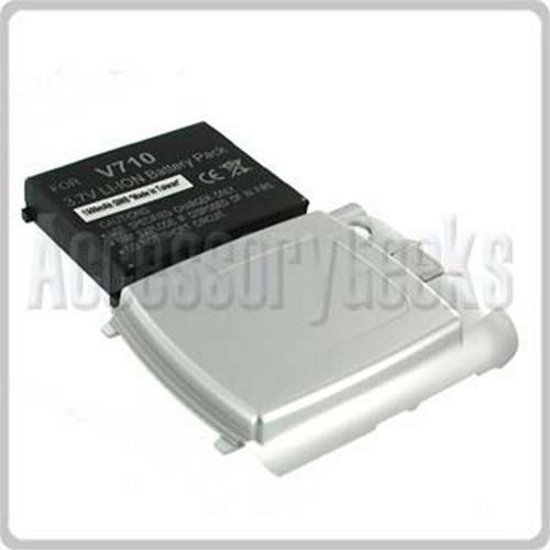Motorola V710 Extended Replacement Lithium Battery