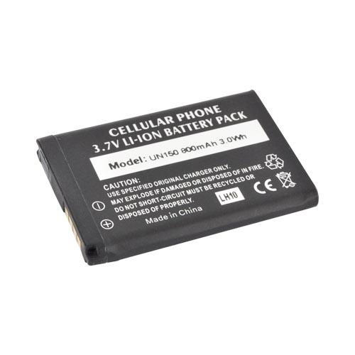 Motorola Droid Bionic XT875 Standard Battery Replacement - Black (1600 mAh)
