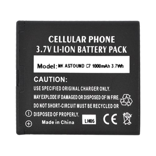 Premium Nokia Astound C7-00 Standard Battery Replacement, (1000 mAh)