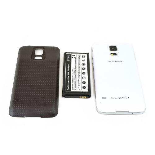 Samsung Galaxy S5 Extended Battery Case (5600 mAh) Double Capacity