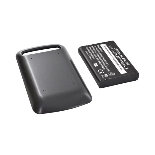 Samsung Rookie R720 Extended Battery w/ Door - Black (2600 mAh)