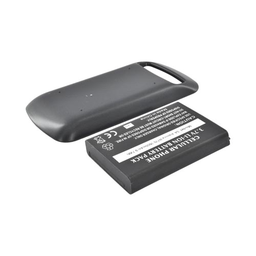 Samsung Admire/ Vitality/ Rookie R720 Extended Battery (2600 mAh) w/ Rubberized Back Door - Black