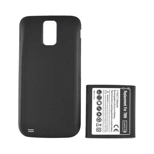 T-Mobile Samsung Galaxy S2 Extended Battery w/ Door - Black (2800 mAh)
