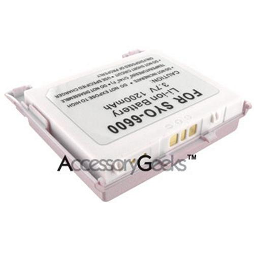 Sanyo Katana SCP 6600 Extended Battery - Pink