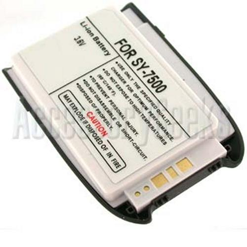 Sanyo 7500 Standard Lithium Battery