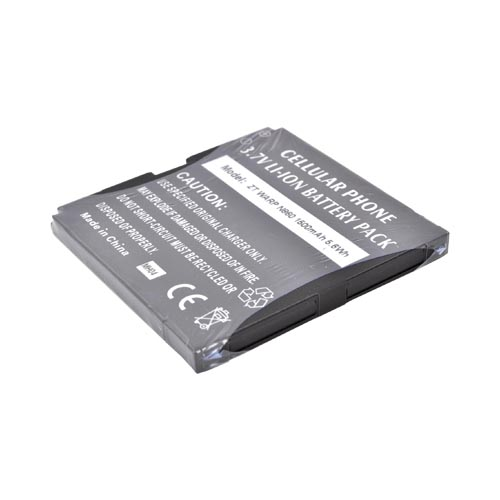 ZTE Warp N860 Standard Battery Replacement (1500 mAh) - Black
