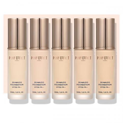 PONY EFFECT SEAMLESS FOUNDATION (SPF 30) #ROSY BEIGE