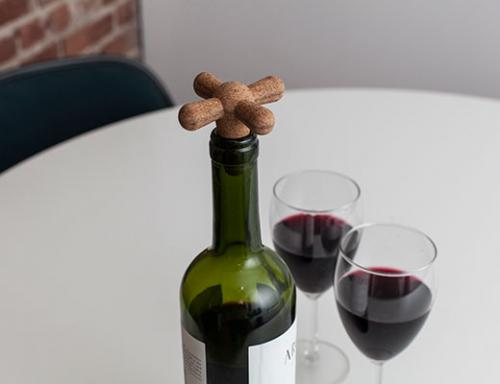 Kikkerland Cork Wine Stopper