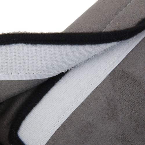 Car Pillow For Safety [Gray] Adjustable Belt Shoulder Pad Pillow For Kids