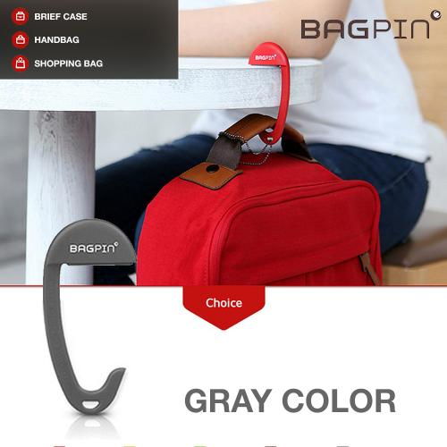 Manufacturers Bagpin Hanger [Gray] Super Strong Hanger/Hook For Purses, Bags, And Backpacks (Holds Up To 33lbs!) Attaches To Your Purse Or Bag For Convenience Hard Cases