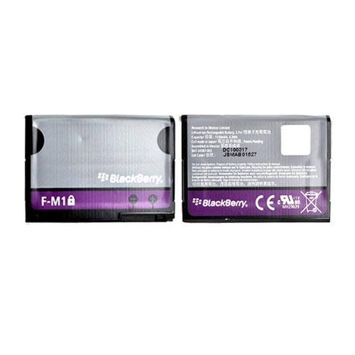 Original Blackberry Pearl 3G 9100 Standard Battery, BAT-24387-003 - 1150mAh