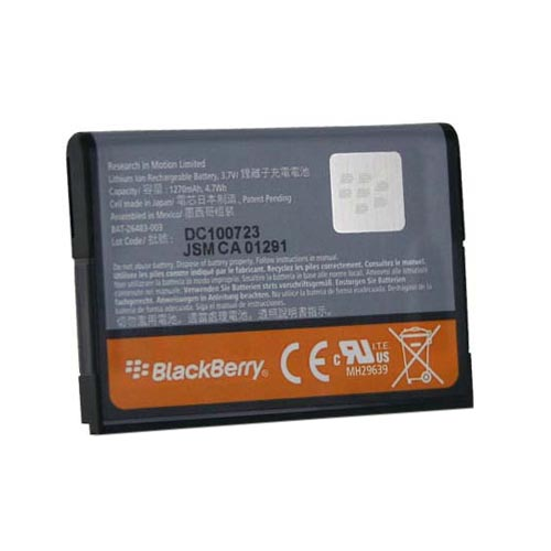 Original Blackberry Torch 9800 Standard Battery, BAT-26483-003 (1300 mAh)