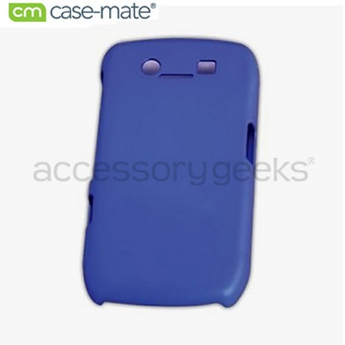 Original Case-Mate Blackberry Curve 8900 Barely There Rubberized Hard Case - Blue, BB8900BT-BLU