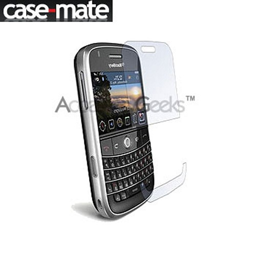 Original Case-Mate Blackberry Bold 9000 Clear Armor Scratch Protecting Invisible Film