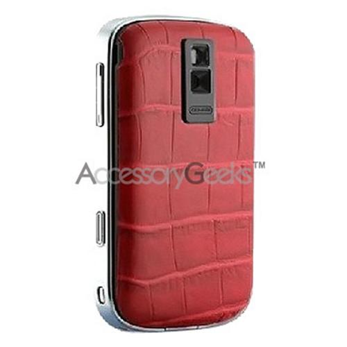 Original Case-Mate Blackberry Bold 9000 Backpack Form Standard Battery Door - Crocodile Red