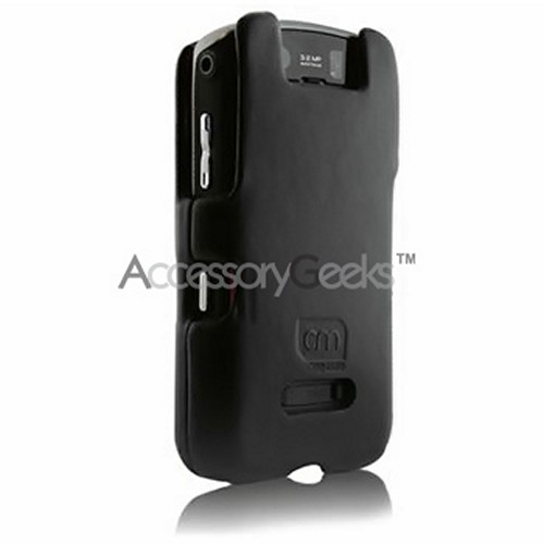 Original Case-Mate Blackberry Storm 9530 Leather Molded Hard Case - Black