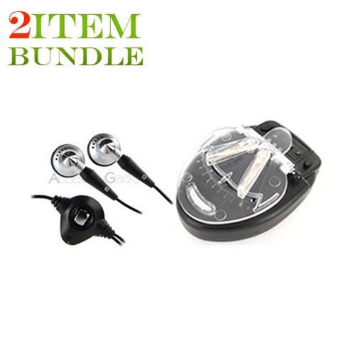 Blackberry Torch Bundle Package - Universal Battery Travel Charger & Blackberry Stereo Headset - (Traveller Combo)