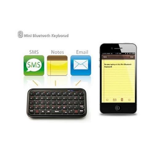 Blackberry Torch Bundle Package - Bluetooth Keyboard & Carrying Case & Blackberry Wireless Bluetooth Presenter - (Workaholic Combo)