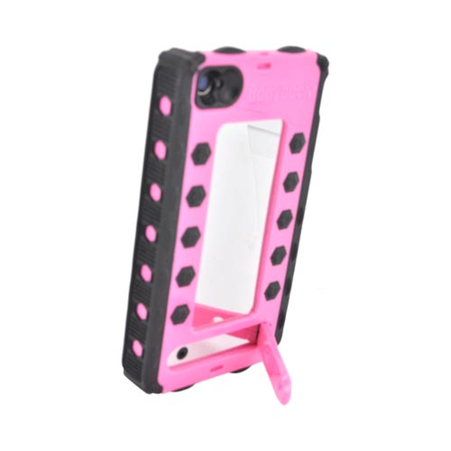 Bodydock Bronze Edition At&t;/ Verizon Apple Iphone 4, Iphone 4s Magnetic Docking System Hard Case and more! - Pink/ Black
