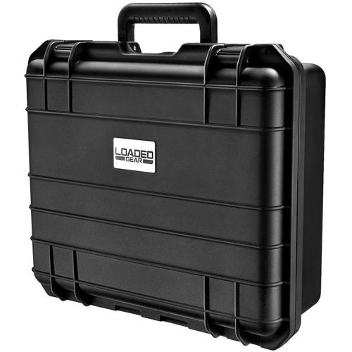 Barska Hard Case, Loaded Gear HD-300 Watertight Tough Protection Storage Case w/ Shoulder Strap [Black]