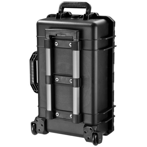 Barska Hard Case, Loaded Gear HD-500 Watertight Tough Protection Storage Case w/ Shoulder Strap [Black]