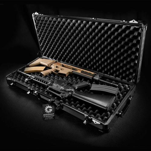"Barska Hard Case, Loaded Gear AX-100 34"" Rifle Tough Protection Storage Case [Black]"