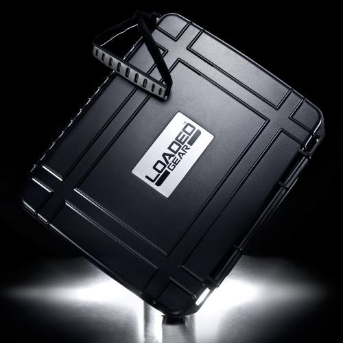 Barska Hard Case, Loaded Gear HD-10 Watertight Tough Protection Storage Case [Black]