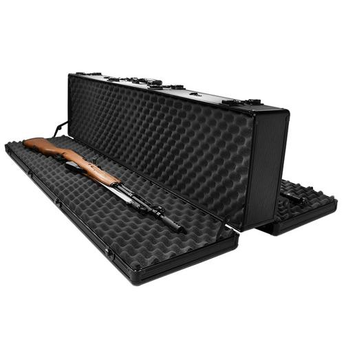 "Barska Hard Case, Loaded Gear AX-400 50"" Double Sided Tough Protection Rifle Storage Case [Black]"