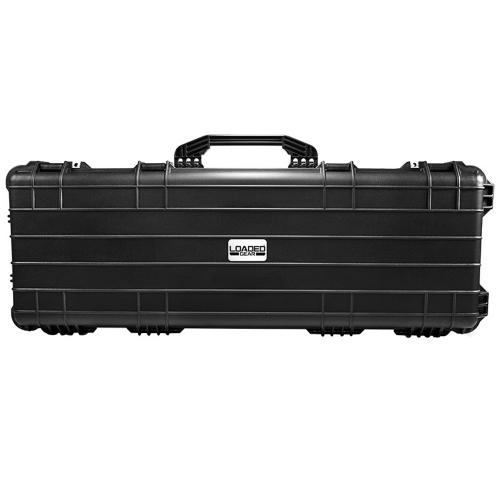 "Barska Hard Case, Loaded Gear AX-600 44"" Rifle Watertight Tough Protection Storage Case [Black]"