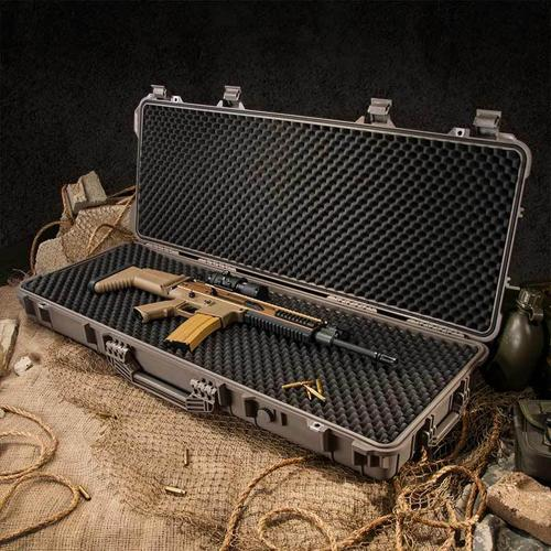 "Barska Hard Case, Loaded Gear AX-600 44"" Rifle Watertight Tough Protection Storage Case [Dark Earth]"