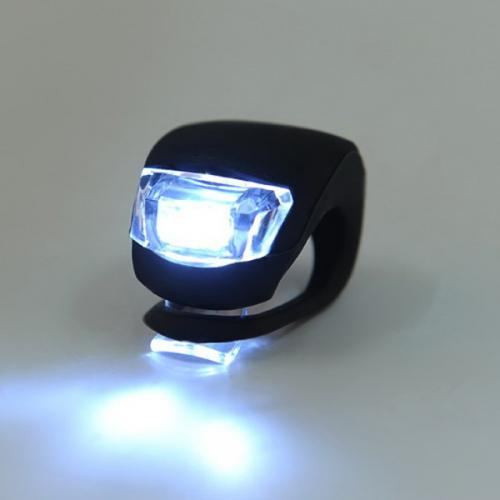 Waterproof Bicycle Strobe Headlight [Black] 4 modes - Perfect for Night Riding!