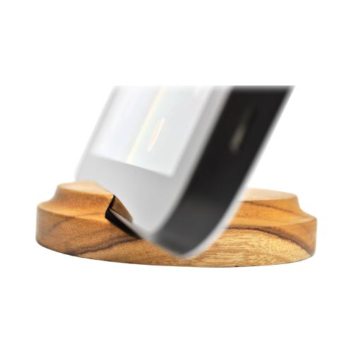 Exclusive BNA Nature Universal Tablet/ iPhone/ Android 100% Hard Wood Stand - Teak