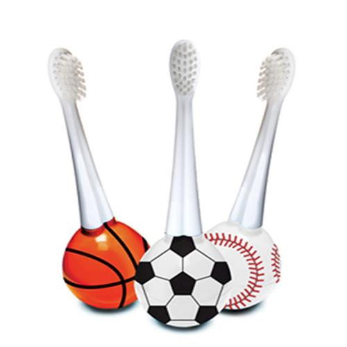 VioLife Soccer Ball Bobee Rocking Toothbrush w/ Replaceable Brush Head - Perfect for Kids!