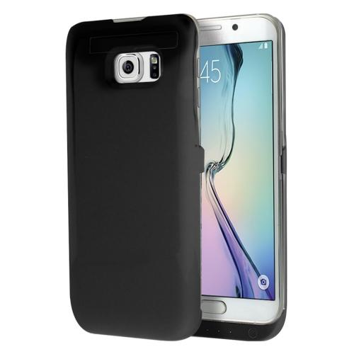 Samsung Galaxy S6 Edge Plus Charging Case, [Black] 3200mAh Rechargeable External Power Case w/ Kickstand