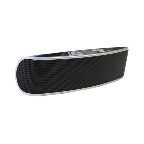 Original Kinyo/ Art Dio 2.0 Portable Bluetooth Stereo Speaker w/ Built-in Mic, BT-132B - Black/ Silver