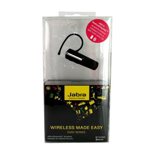 Original Jabra BT2080 Bluetooth Headset - Black