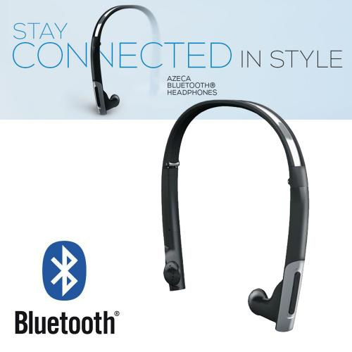 Azeca (formerly known as Alva) Bluetooth Stereo Folding Headset w/ Carrying Case [BTH010]